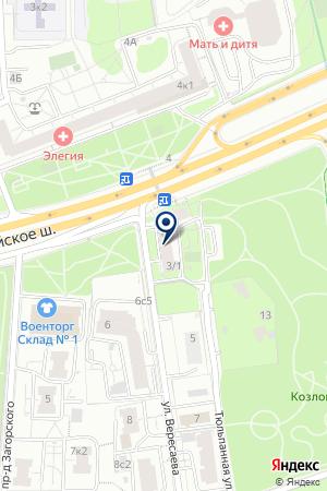 МАГАЗИН СПОРТТОВАРОВ ПРОФИ на карте Можайска