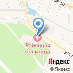 Ленинская районная больница на карте Ленинского