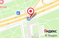 Схема проезда до компании Промтехцентр в Москве
