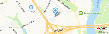 Комас Тур на карте Химок
