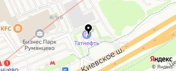 Татнефть-АЗС-Запад на карте Москвы