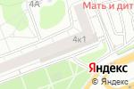 Схема проезда до компании Gloverall в Москве