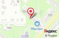 Схема проезда до компании Редакция Газеты «Окский Курьер» в Серпухове