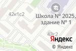 Схема проезда до компании Данаи в Москве