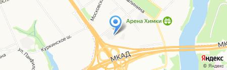 Милан на карте Химок