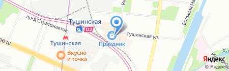 Роял Финанс на карте Москвы