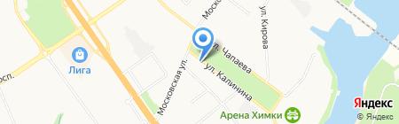 Центральная городская библиотека на карте Химок