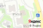 Схема проезда до компании Волшебная Рыбка в Москве