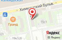 Схема проезда до компании Строй Центр в Москве