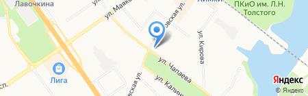 Яхонт на карте Химок