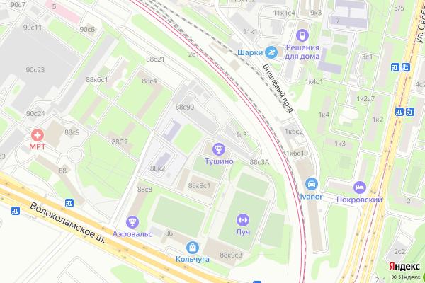Ремонт телевизоров Район Покровское Стрешнево на яндекс карте