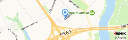 Противотуберкулезный диспансер на карте Химок