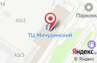 Схема проезда до компании Брэнд в Москве