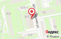Схема проезда до компании Маркпресс в Москве