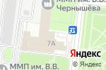 Схема проезда до компании Красный Октябрь в Москве