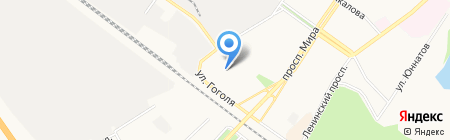 Голубка на карте Химок
