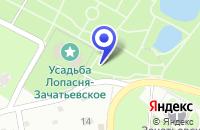 Схема проезда до компании ГОРОДСКОЙ ПАРК КУЛЬТУРЫ И ОТДЫХА в Чехове