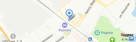 Автомойка на ул. Гоголя на карте Химок