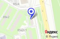 Схема проезда до компании НПФ МАГУШ в Москве