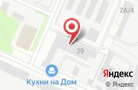 Схема проезда до компании Барс-М в Серпухове