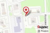 Схема проезда до компании Биг Эпл в Москве