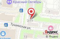 Схема проезда до компании Прометей-Эксклюзив в Москве