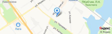 Детский сад №7 Тропинка на карте Химок