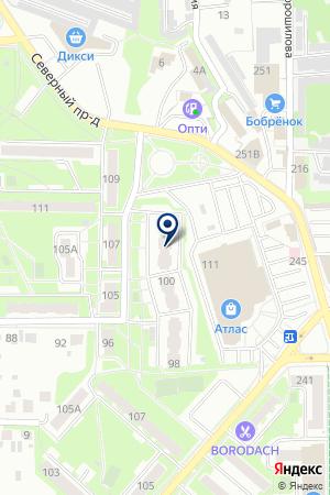 СЕЛИНА на карте Серпухова