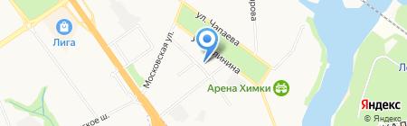 Квартал Групп на карте Химок