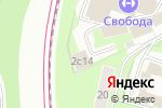 Схема проезда до компании Конструкторское Бюро Беркут в Москве