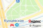 Схема проезда до компании Цветочный Рай в Москве