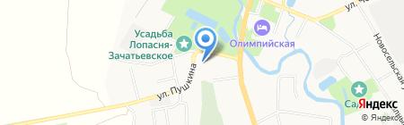 Воскресная школа на карте Чехова