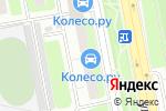 Схема проезда до компании Волнорез в Москве