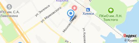 ИНВИТРО на карте Химок