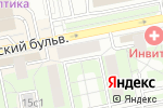 Схема проезда до компании Иголочка в Москве