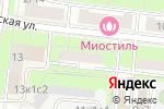 Схема проезда до компании Картриджи на Тушинской в Москве
