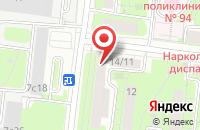 Схема проезда до компании Аптека Тушинская в Москве