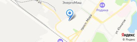Химкинский техникум межотраслевого взаимодействия на карте Химок