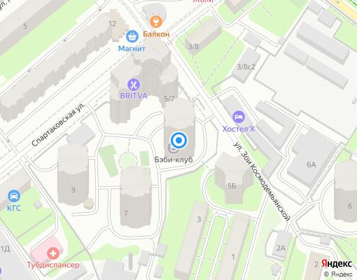Товарищество собственников жилья «12-й квартал» на карте Химок