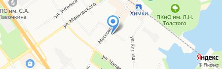 Всероссийское общество слепых на карте Химок