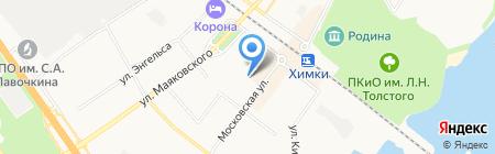 Детский сад №36 на карте Химок