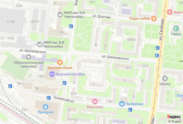 продажа квартир На Циолковского