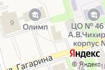 Схема проезда до компании Магазин продуктов в Ленинском