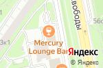 Схема проезда до компании СК Кифа в Москве