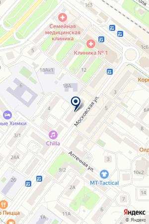 HUSQVARNA VIKING PFAFF на карте Химок
