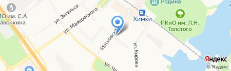 Умники+Умницы на карте Химок
