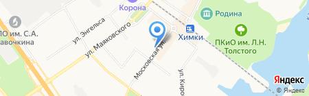 Почтовое отделение №141402 на карте Химок