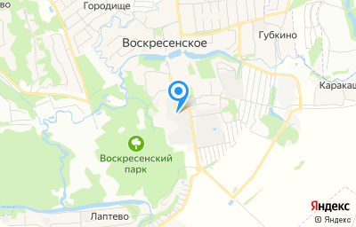 Местоположение на карте пункта техосмотра по адресу г Москва, Воскресенское п, п Воскресенское
