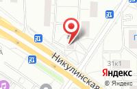 Схема проезда до компании Русская Титановая Компания в Москве