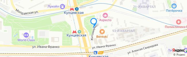 Житомирская улица